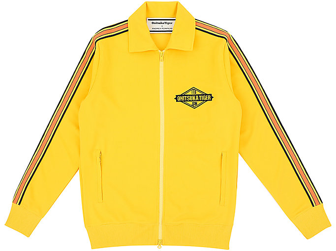 Alternative image view of TRACK TOP, TAI-CHI YELLOW