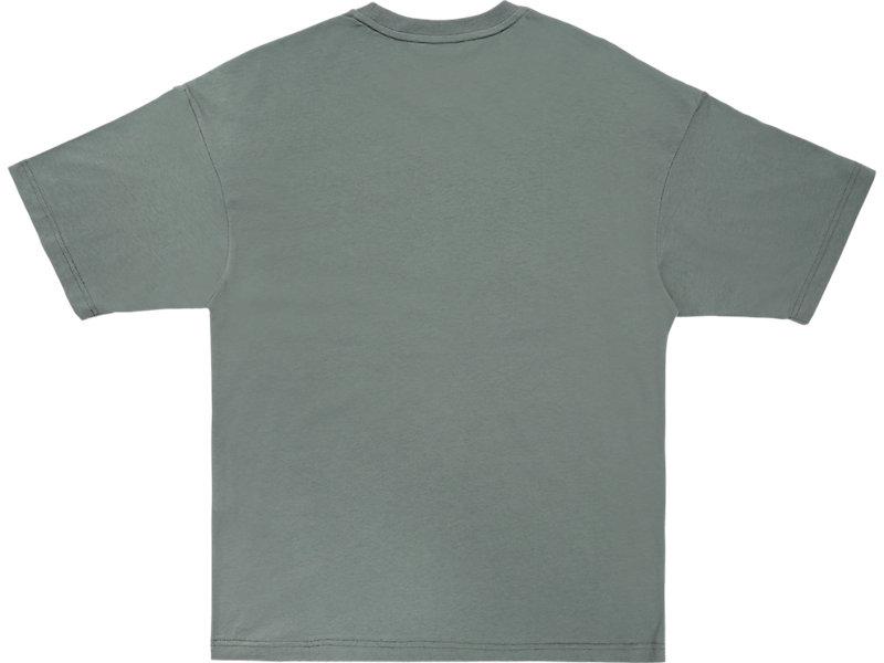 LOGO TEE STONE GREY/PERFORMANCE BLACK 5 BK