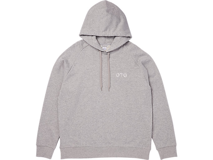 Alternative image view of SWEAT HOODIE, STONE GREY