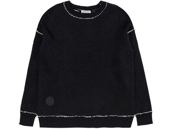 中性針織上衣 BLACK