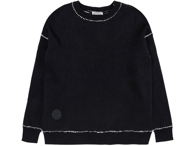 Alternative image view of LONG KNIT, PERFORMANCE BLACK
