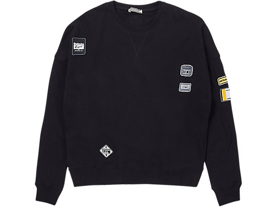 PATCH PULL-OVER BLACK