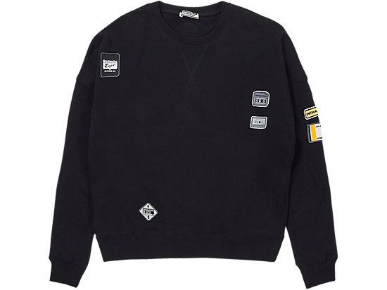寬松針織衫 BLACK