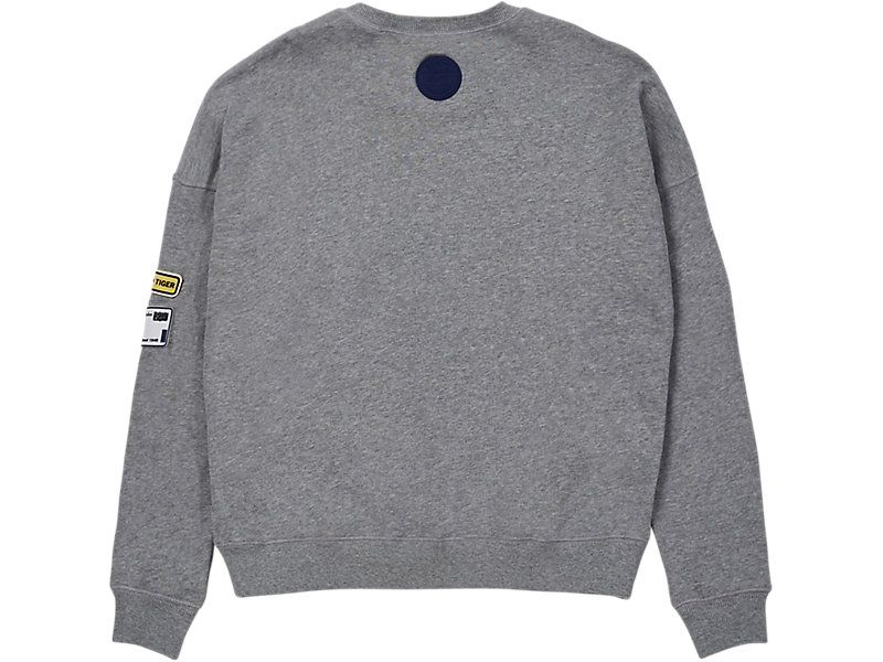 PATCH PULL-OVER MID GREY 5 BK