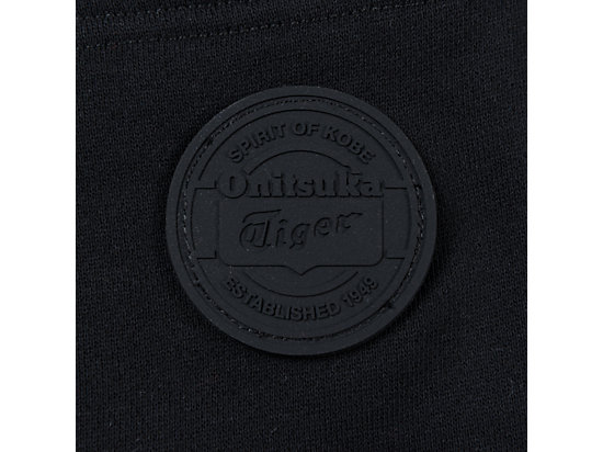 中性Onitsuka Tiger logo休閑褲 黑色
