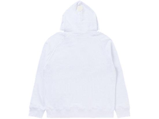 長袖帽衛衣 WHITE