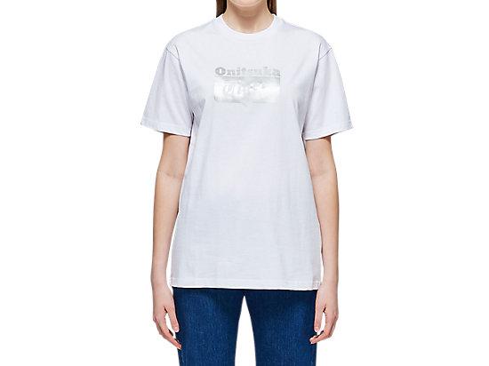 長袖上衣 REAL WHITE/SILVER