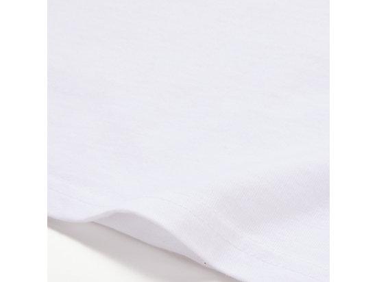 中性虎頭短袖上衣 WHITE