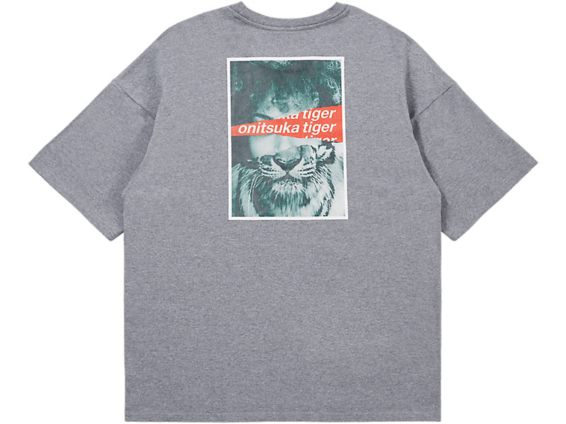 GRAPHIC TEE MID GREY 5 BK