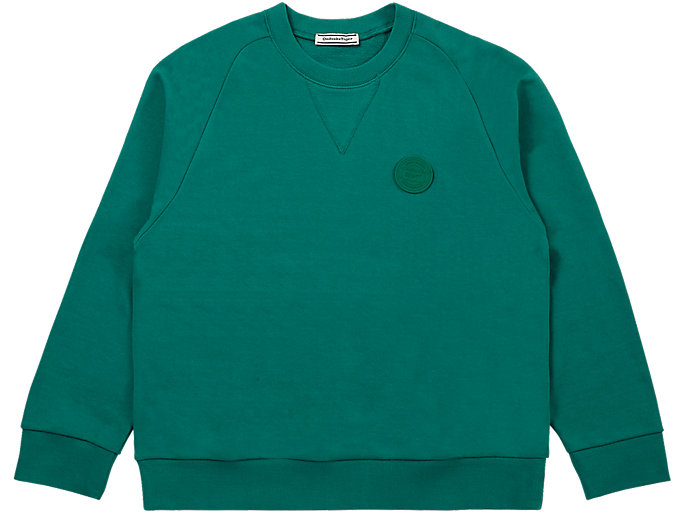 Alternative image view of SWEAT TOP, GREEN
