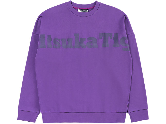 Alternative image view of SWEAT TOP, VIOLET