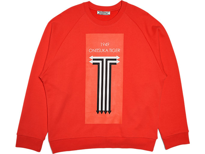 Alternative image view of SWEAT TOP, Fiery Red