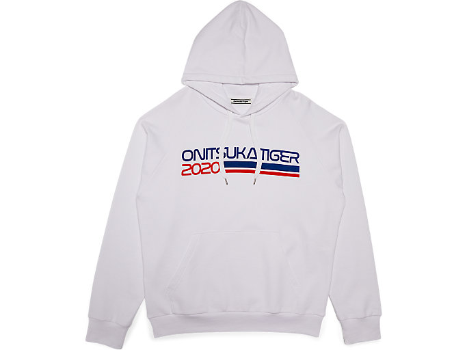Alternative image view of PRINTED HOODIE, Real White