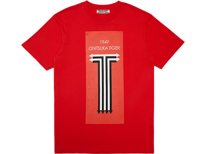 Alternative image view of T-Shirt Graphique, FIERY RED