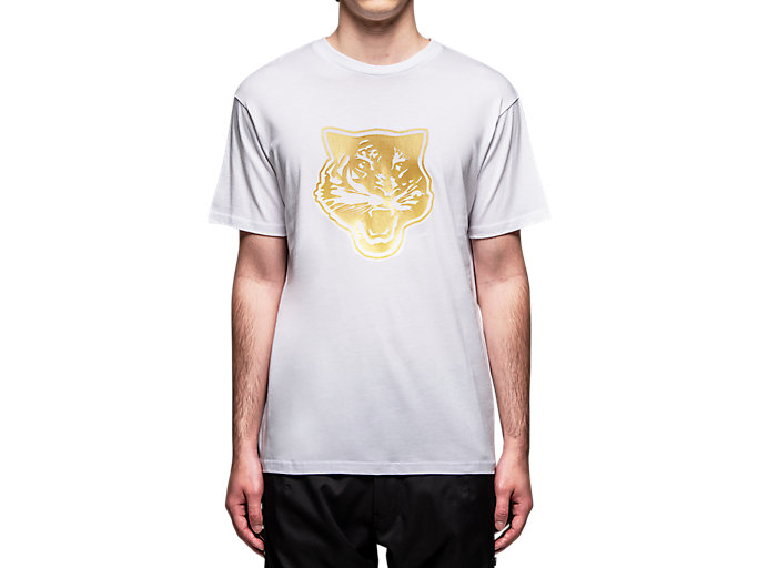 Alternative image view of T-SHIRT, Real White/Rich Gold