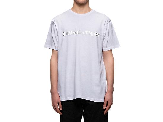 短袖上衣 WHITE/SILVER
