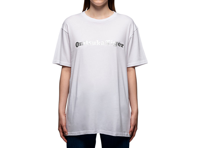 Alternative image view of T-SHIRT, Real White/Silver