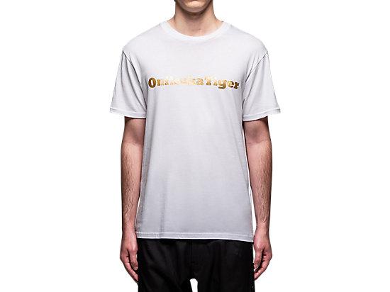 短袖上衣 WHITE/GOLD