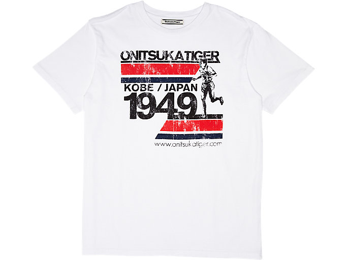 Alternative image view of GRAFISCH T-SHIRT, Real White