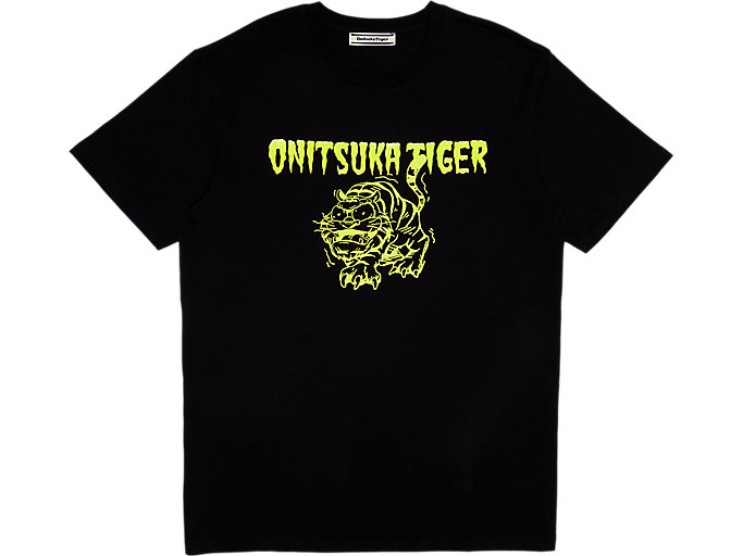 Alternative image view of T-Shirt GRÁFICA, Performance Black/Safety Yellow