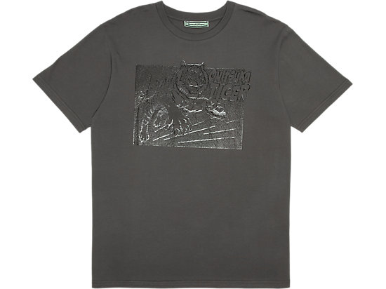 GRAPHIC TEE HEATHER GREY