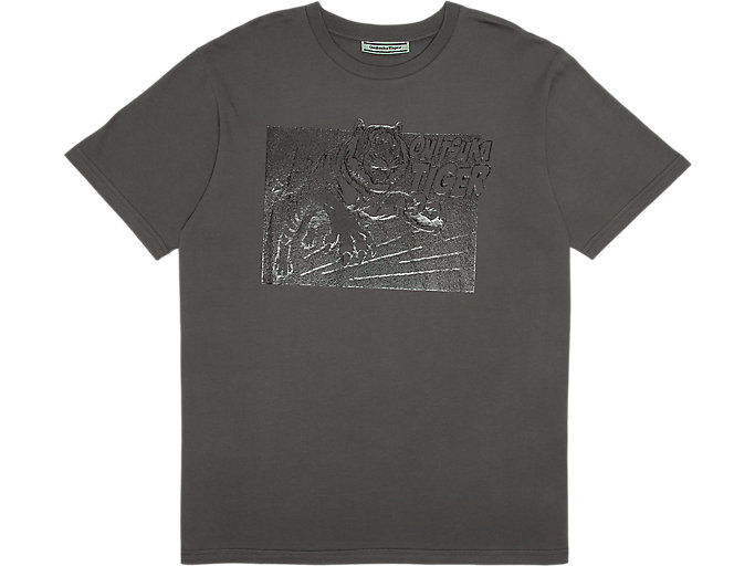 Alternative image view of GRAPHIC TEE, Feather Grey
