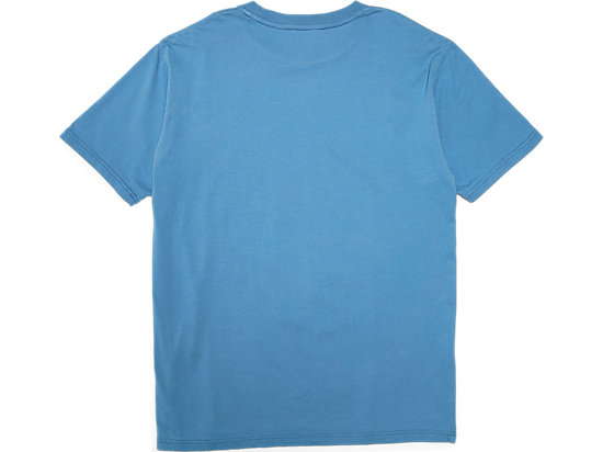 WASHED GRAPHIC TEE BLUE