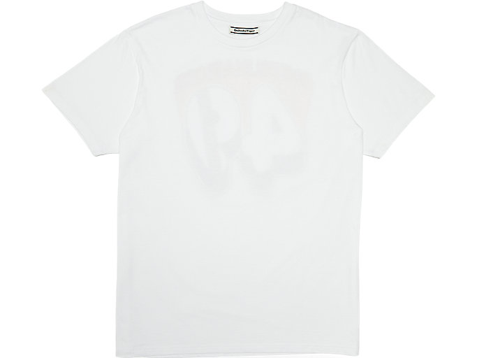 Alternative image view of WASHED GRAPHIC TEE, REAL WHITE