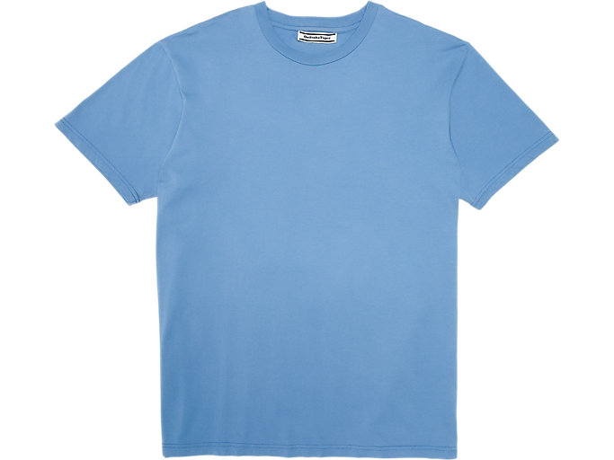 Alternative image view of WASHED GRAPHIC TEE, ELECTRIC BLUE