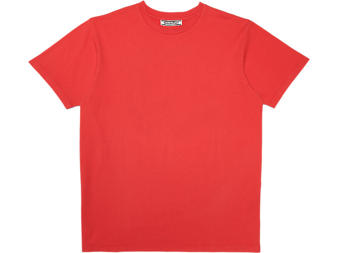 Alternative image view of WASHED GRAPHIC TEE, Fiery Red