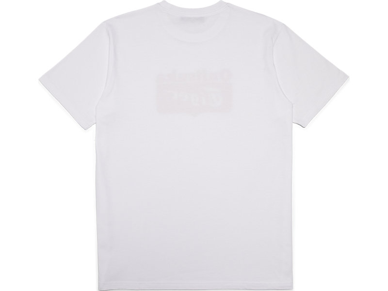 GRAPHIC TEE REAL WHITE/FIERY RED 5 BK