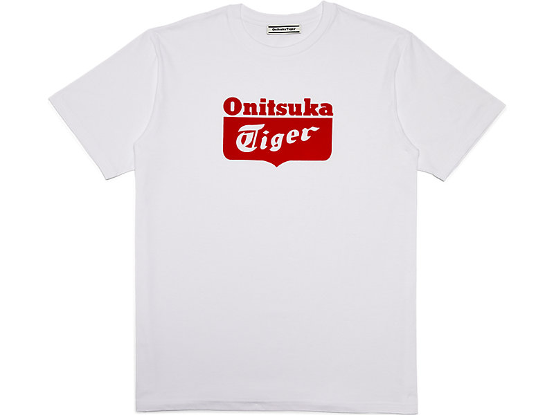 GRAPHIC TEE REAL WHITE/FIERY RED 1 FT