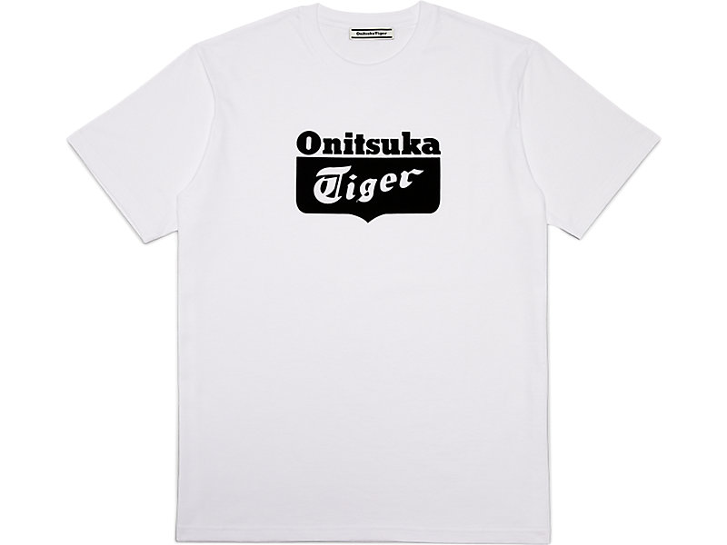 GRAPHIC TEE REAL WHITE/PERFORMANCE BLACK 1 FT