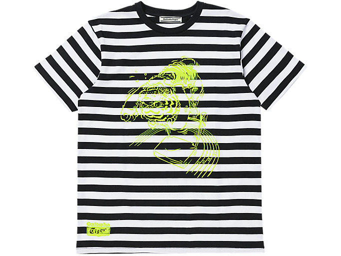 Alternative image view of GRAPHIC TEE, Performance Black/Safety Yellow