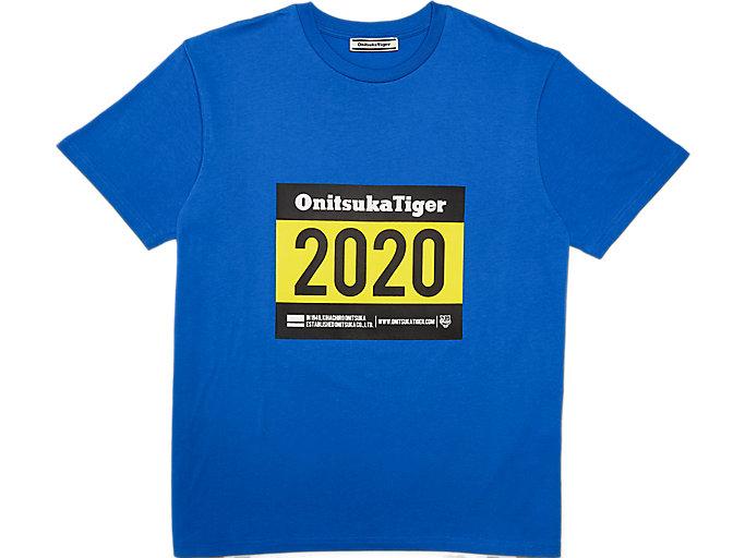 Alternative image view of GRAFIK T-Shirt, Electric Blue
