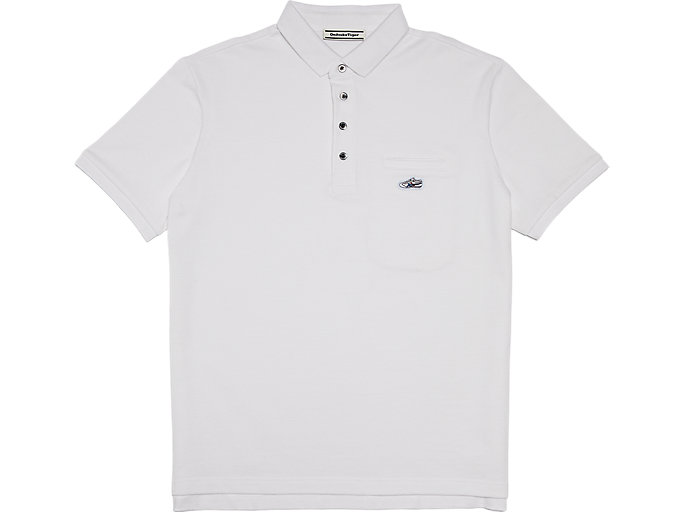 Alternative image view of POLO SHIRT, Real White