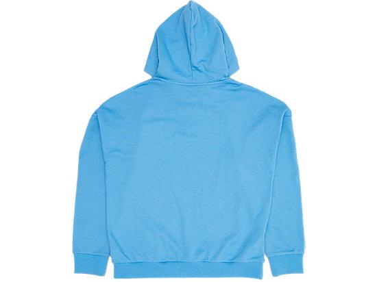 LOGO長袖帽T PALE BLUE/LIGHT PURPLE