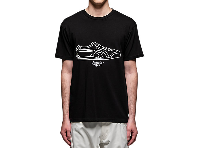 Alternative image view of GRAPHIC TEE, PERFORMANCE BLACK