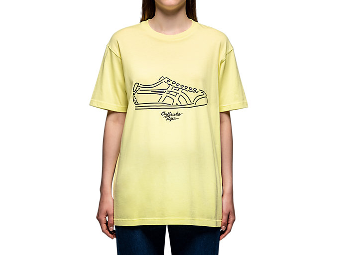 Alternative image view of GRAPHIC TEE, Huddle Yellow
