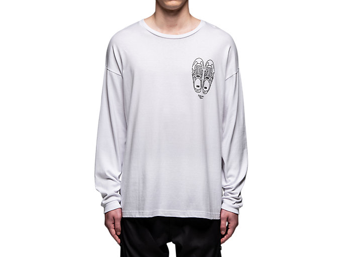 Alternative image view of GRAPHIC LS TEE