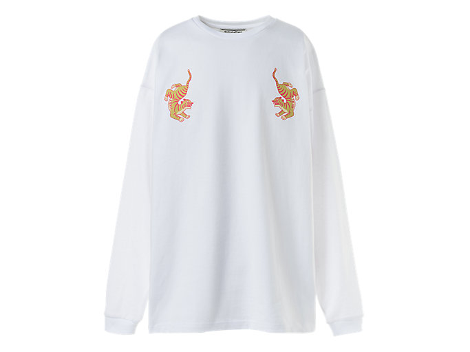 Alternative image view of GRAFISCHE longsleeve, Real White