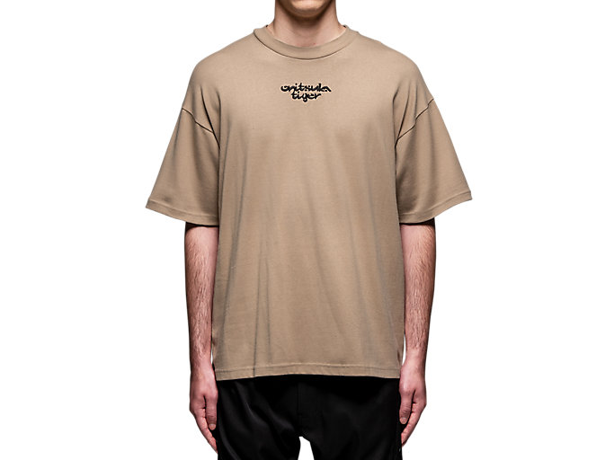 Alternative image view of GRAPHIC TEE, Dark Taupe