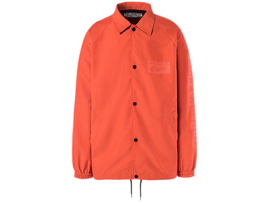 COACH JACKET ORANGE