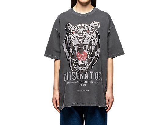 中性寬版短袖T恤 PERFORMANCE BLACK
