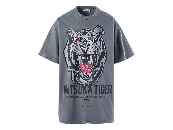 Alternative image view of OVERSIZE WASHED TEE