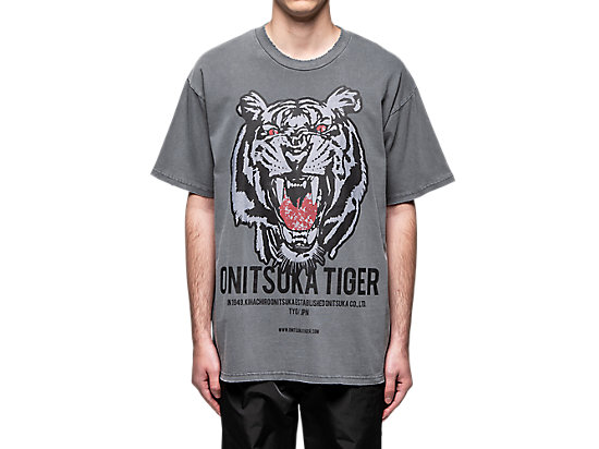 OVERSIZE WASHED TEE CARRIER GREY