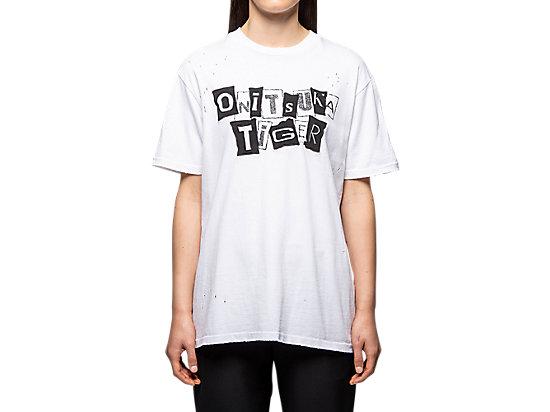 中性水洗復古風短袖T恤 WHITE