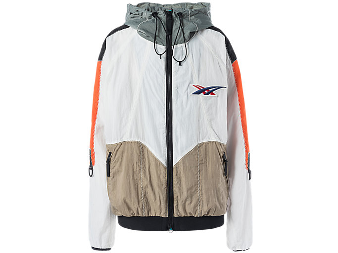 Alternative image view of BLOUSON JACKET, Real White