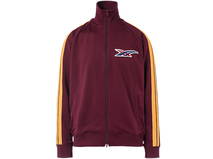 Alternative image view of TRACK TOP, Burgundy