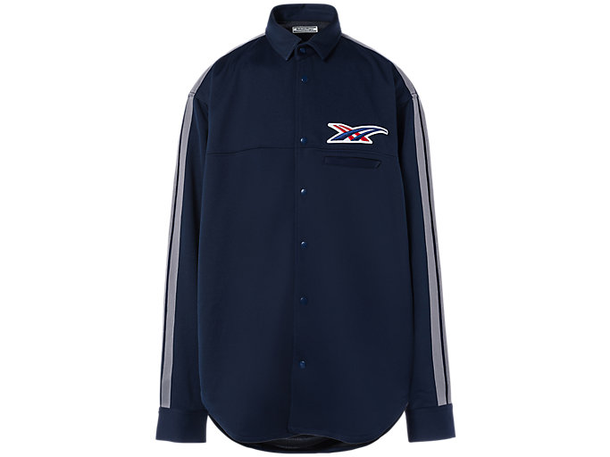 Alternative image view of BUTTON DOWN TRACK JACKET